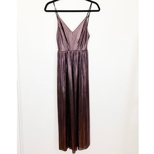 Urban Outfitters Metallic Jumpsuit